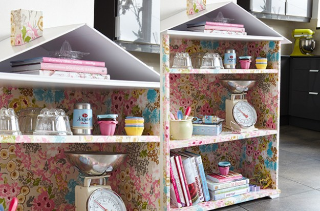 Essentials wallpaper cupboard