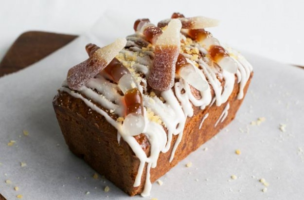 Cola drizzle loaf