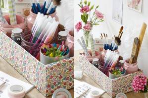 Essentials storage box craft