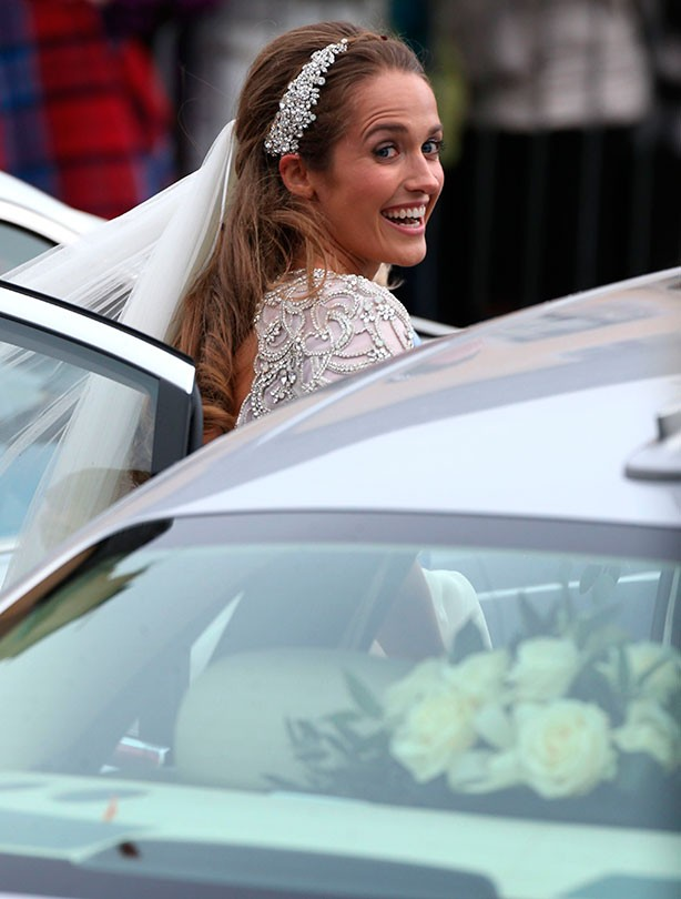 Kim Sears marries Andy Murray