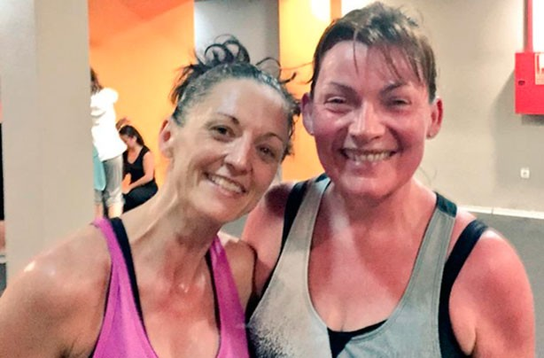 Lorraine Kelly keeps fit with Zumba classes