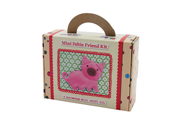 John Lewis pig felt craft kit