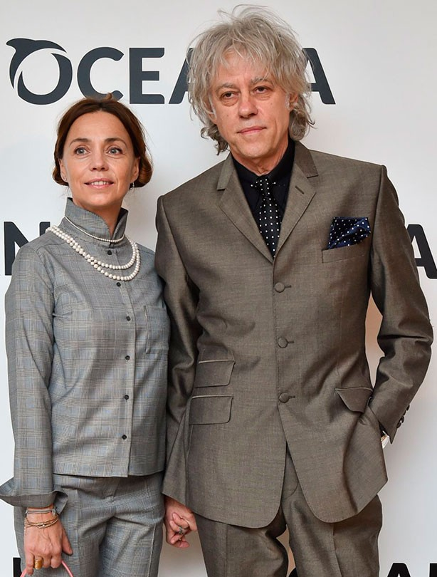 Bob Geldof marries Jeanne Marine