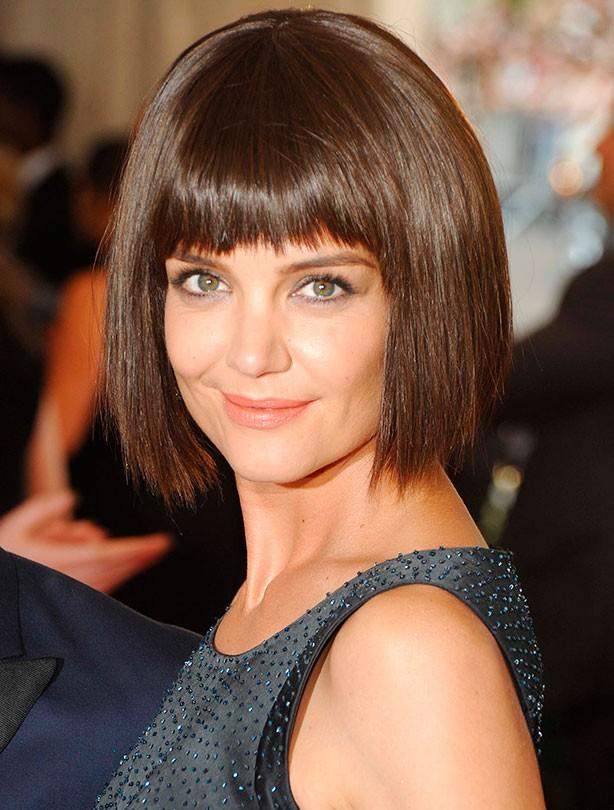 Hairstyles Katie Holmes : Best bob hairstyles - Katie Holmes - goodtoknow
