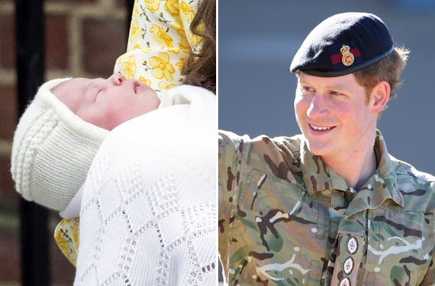 Prince Harry talking about neice Princess Charlotte