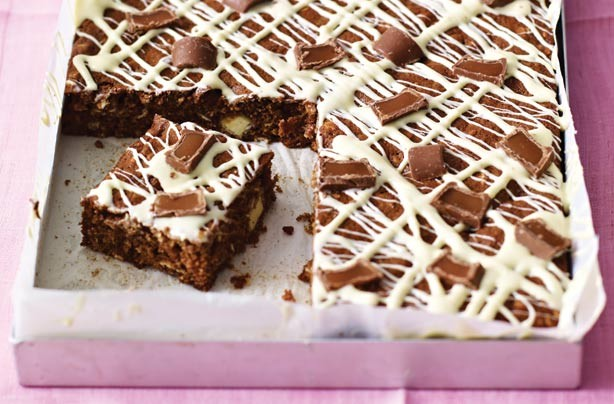 Recipe For Chewy Cake Squares