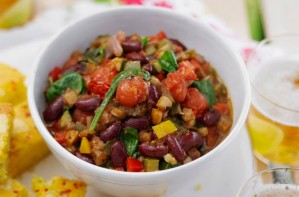Mediterranean vegetable chilli
