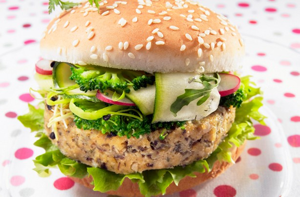 Our favourite veggie burgers