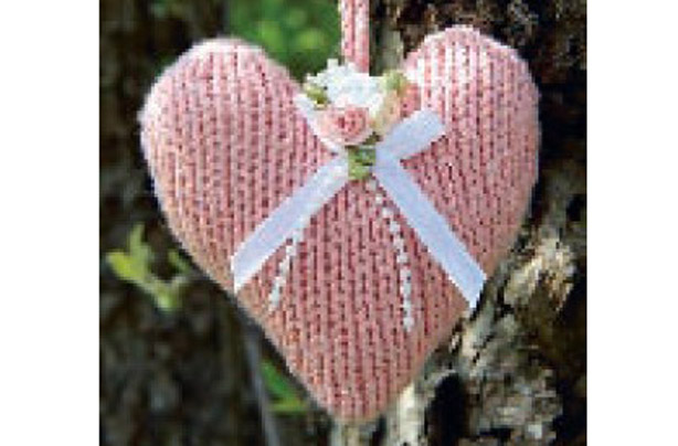 Knitting Heart Motif : Heart motif knitting pattern bing images