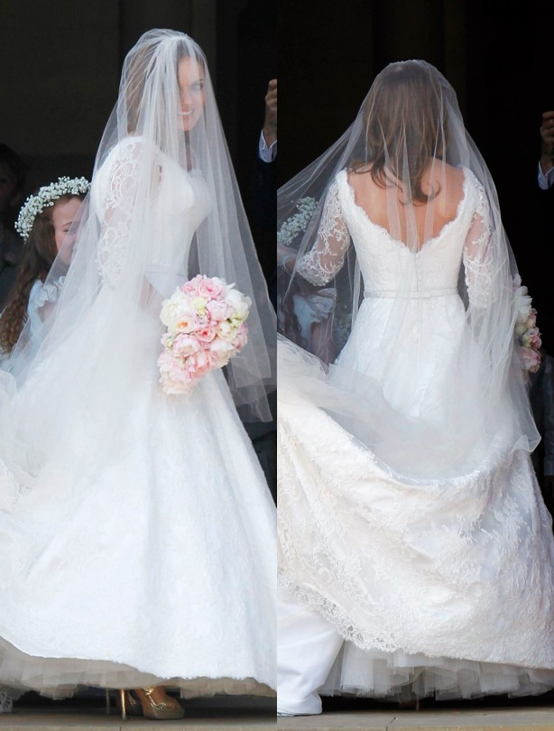 Geri Halliwell wedding dress