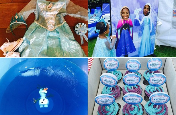 Alai-Mai Frozen birthday party