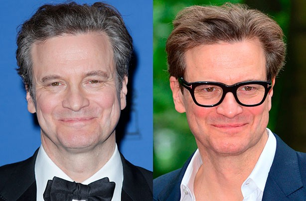 Colin Firth dyes his hair