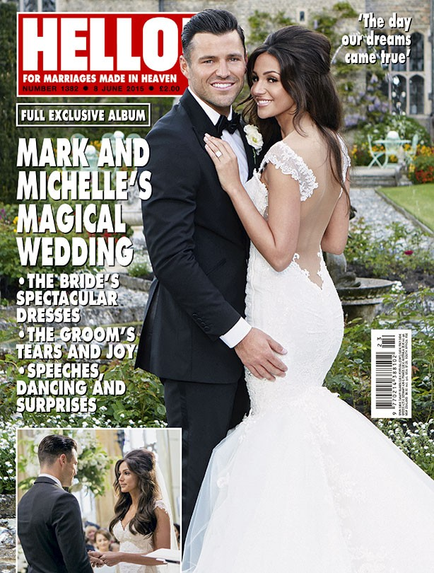 Mark Wright and Michelle Keegan tie the knot