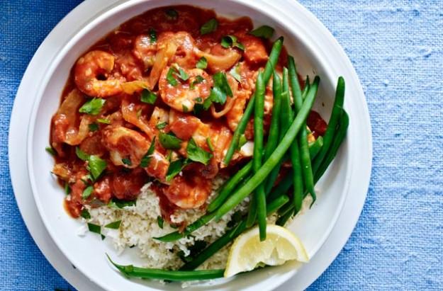 Skinny Spanish fish stew