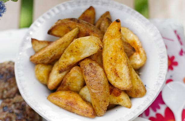 Paprika wedges