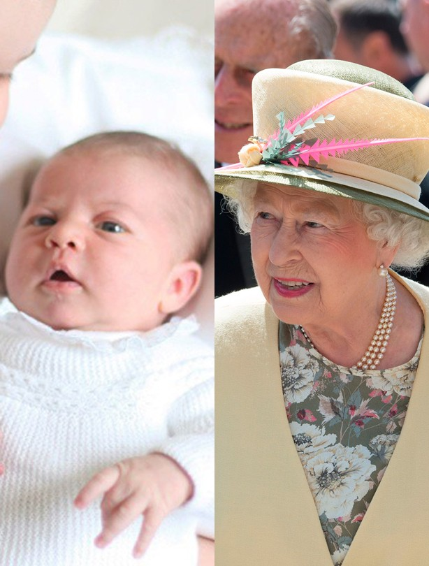Princess Charlotte, Queen Elizabeth