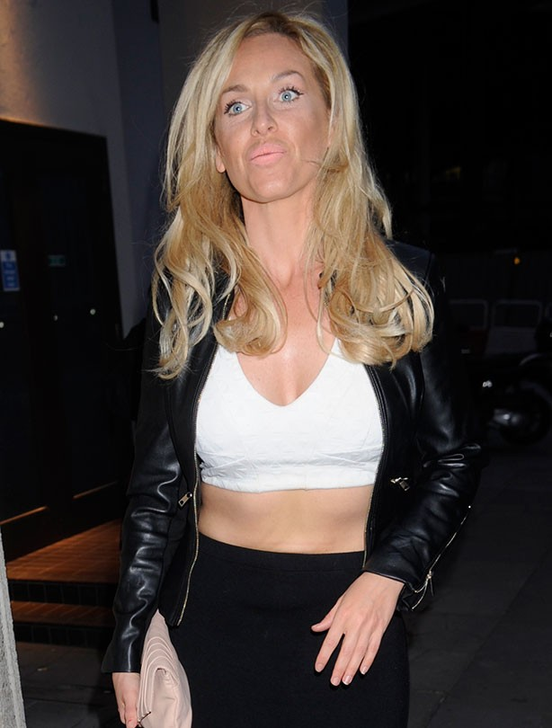 Josie Gibson's changing shape