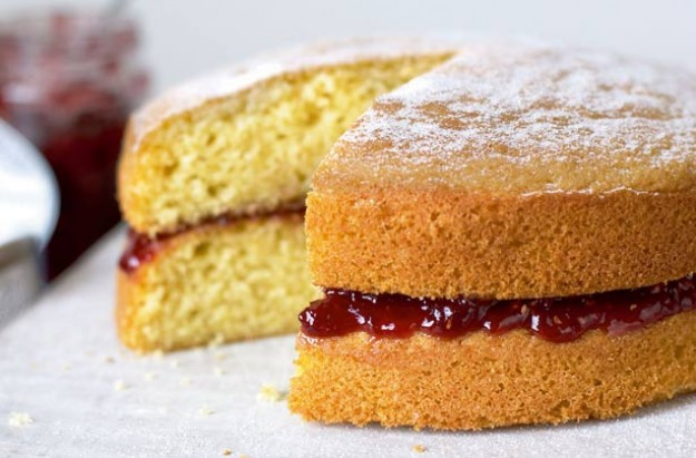 Mary Berry's Victoria sandwich