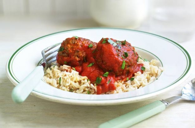 Gino D'Acampo's light spicy meatballs