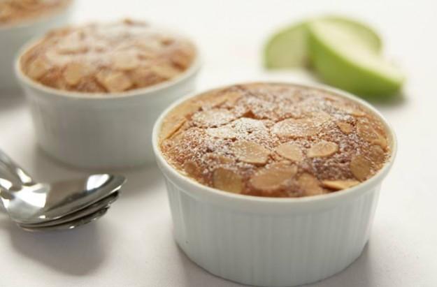 Gino D'Acampo's almond apple pies