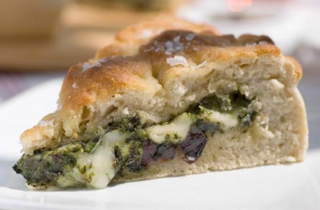 Gino D'Acampo's stuffed focaccia bread