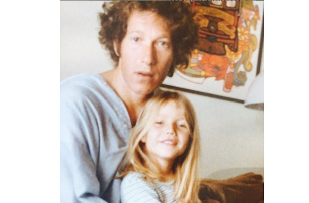 Gwyneth Paltrow as a child