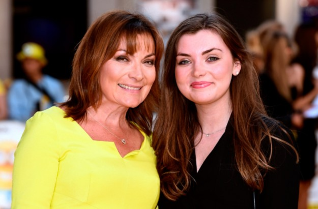 Lorraine Kelly and her daughter Rosie