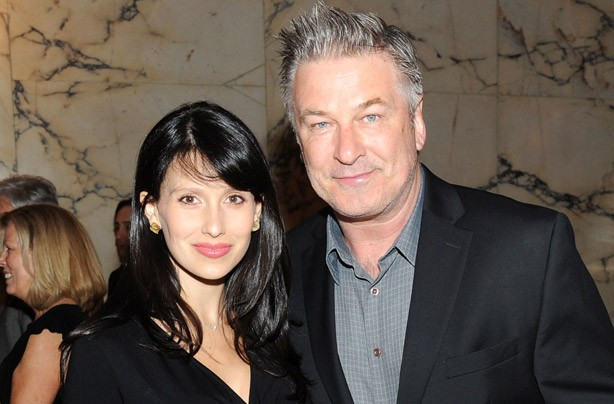Hilaira and Alec Baldwin