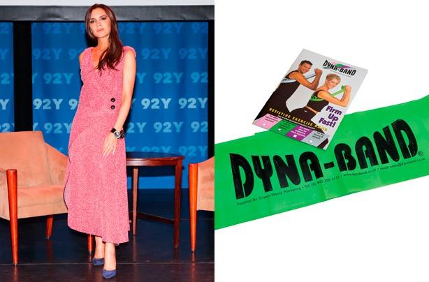 Victoria Beckham fitness secret, Dynaband