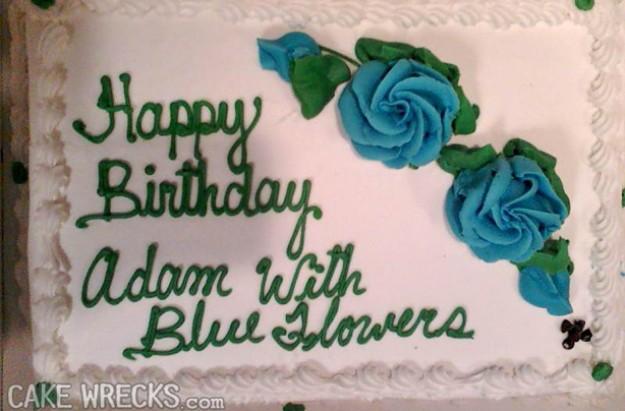 Cake decorators that didn't understand