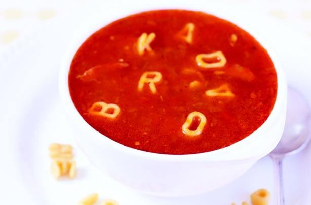 Rachel Allen's alphabet soup