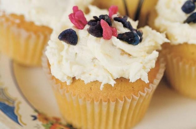 Rachel Allen's lemon cupcakes