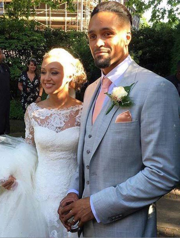 Ashley Banjo marries Francesca Abbott