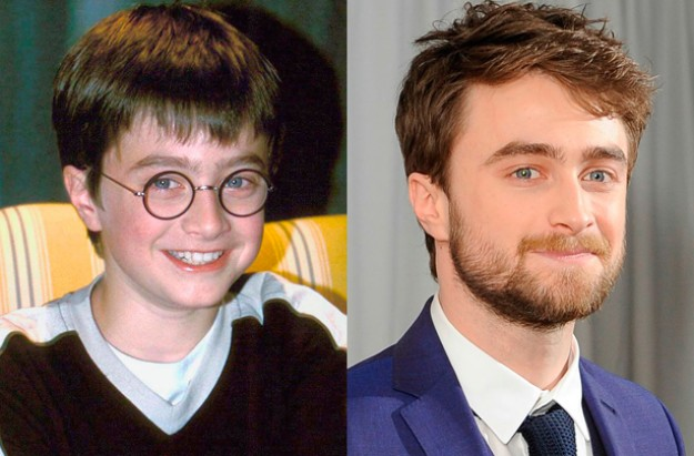 Child stars of Harry Potter: then and now