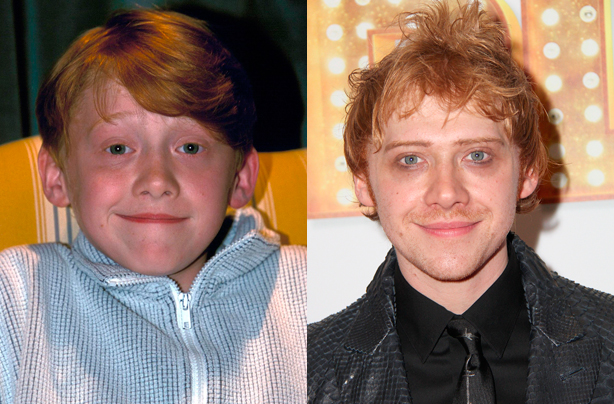 The child stars of harry potter then and now goodtoknow - Ron weasley and hermione granger kids ...