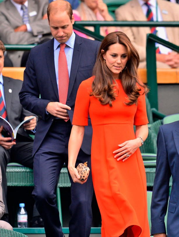 Kate and William at Wimbledon 2015