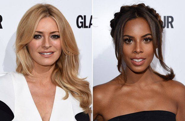 Tess Daly and Rochelle Humes