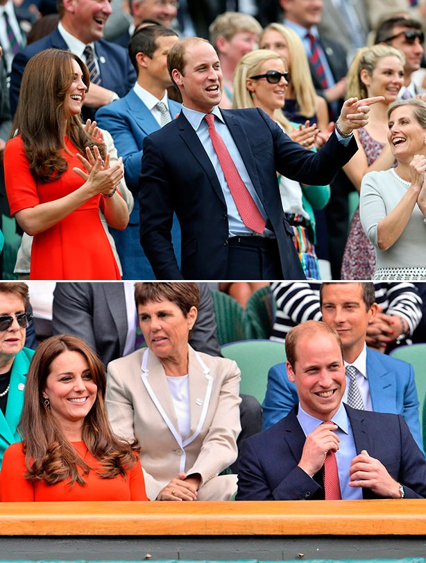 Prince William and Kate Middleton and Wimbledon