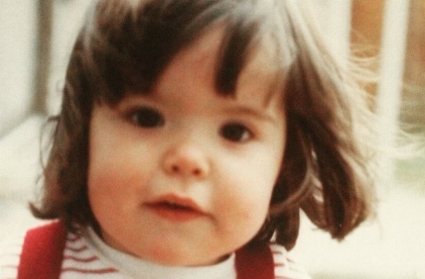 Paloma Faith as a baby