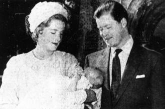 Princess Diana as a baby