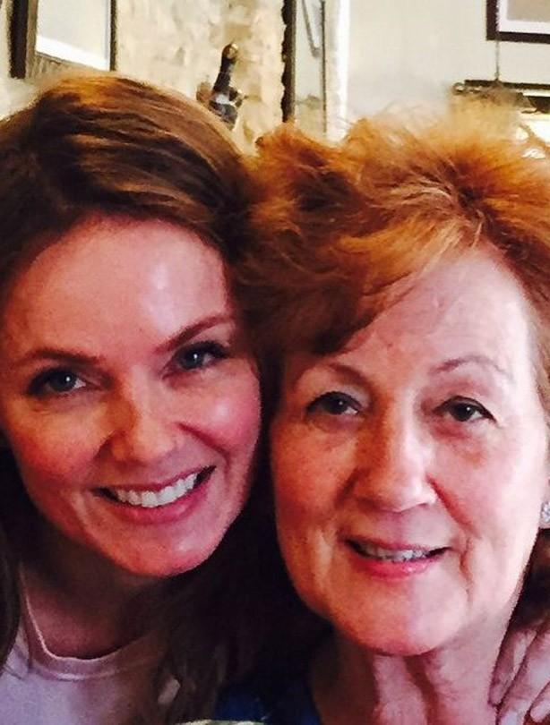 Geri Halliwell's mum
