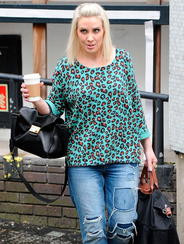 Claire Richards opens up about conception struggles