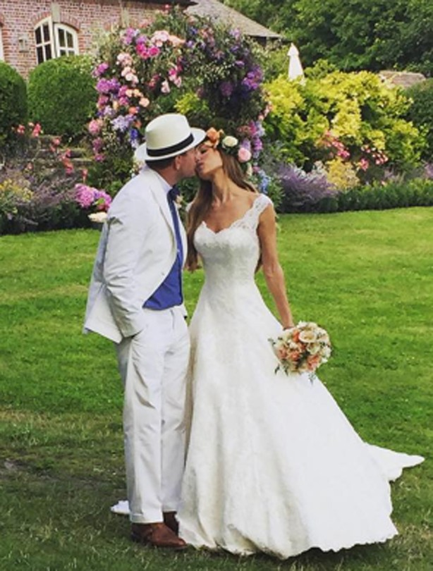 Guy Ritchie and Jacqui Ainsley wedding