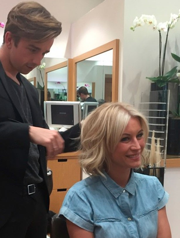 Denise Van Outen bob hairstyle