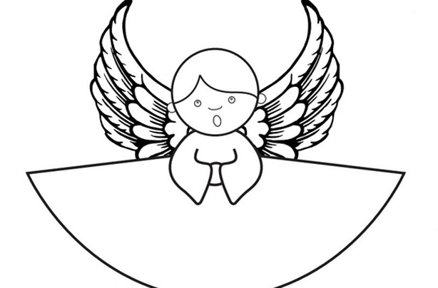 Free Angel template
