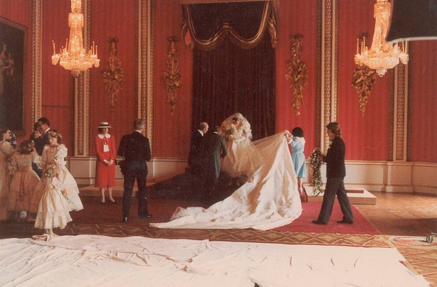 Charles and Diana's wedding photos