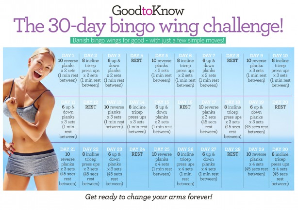 30 day bingo wing challenge