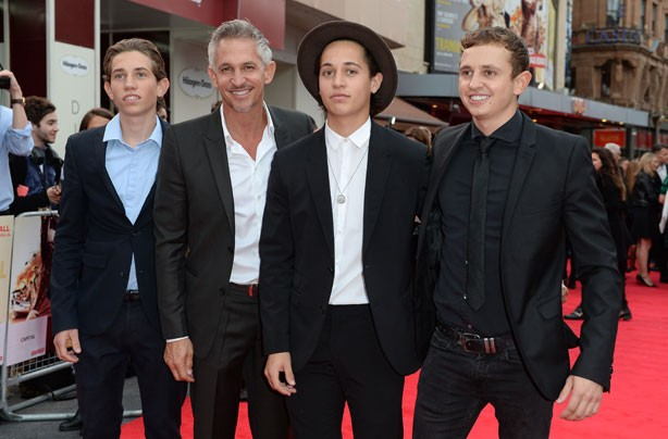 Gary Lineker and sons