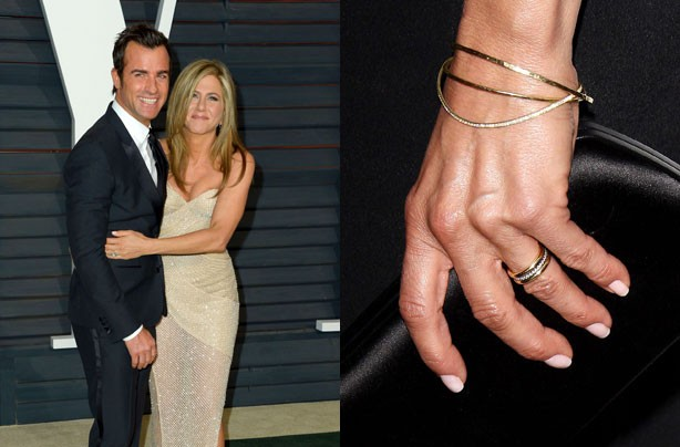 celebrity engagement rings jennifer aniston goodtoknow