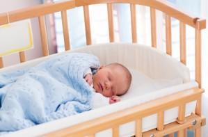 Baby, sleep, cot